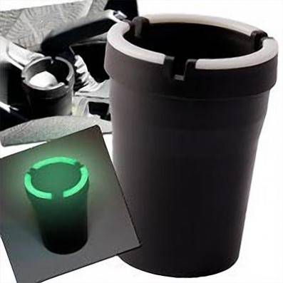CENDRIER DE VOITURE BUCKET FLUORESCENT
