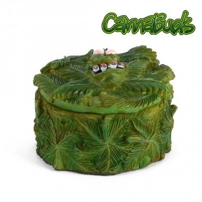 CENDRIER CANNABUDS GREEN