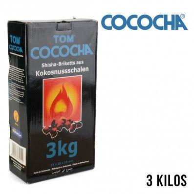 CHARBON COCOCHA NATUREL BLEU FLAT 3KG