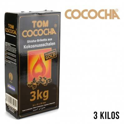 CHARBON COCOCHA NATUREL PREMIUM GOLD 3KG