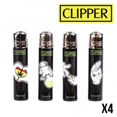 CLIPPER CARTOON HANDS X4