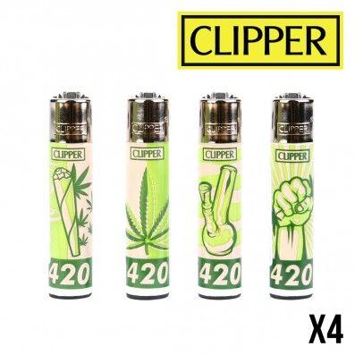 CLIPPER GREEN 420 X4