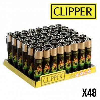 CLIPPER RASTAFARI LEAF X48