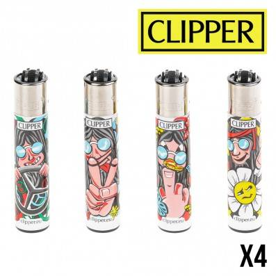 CLIPPER HIPPIE MAN X4
