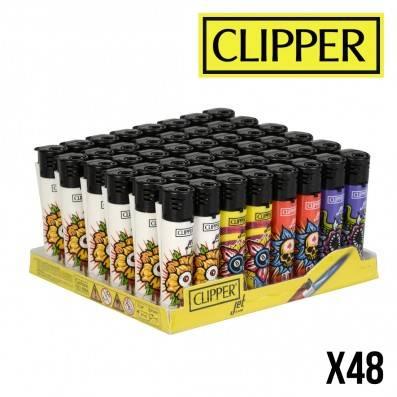 CLIPPER JET STRANGE FLOWERS X48