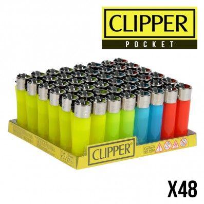 CLIPPER POCKET COLOR TRANSPARENT X48