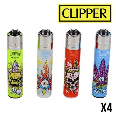 CLIPPER PSYCHO LEAVES X4