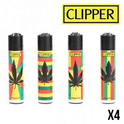 CLIPPER REGGAE PRINT X4