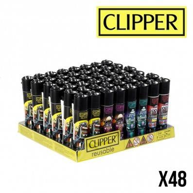 CLIPPER RETRO WAVE ROBOTS X48