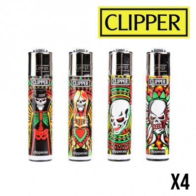 CLIPPER SKULL ANGELS X4