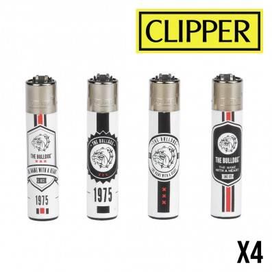 CLIPPER THE BULLDOG HEARTS X4