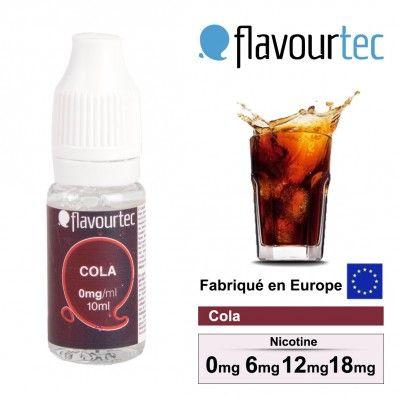 E-LIQUIDE FLAVOURTEC COLA
