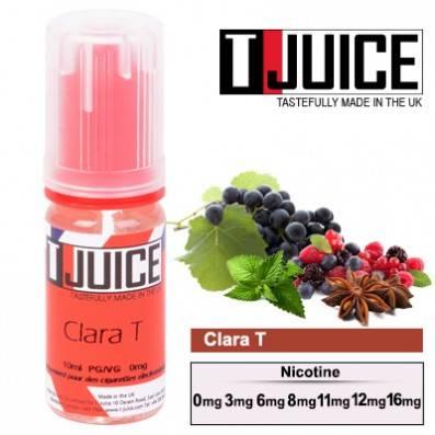 E-LIQUIDE T-JUICE CLARA-T 10ML