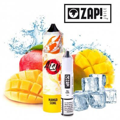 E-LIQUIDE ZAP JUICE AISU MANGUE 50ML