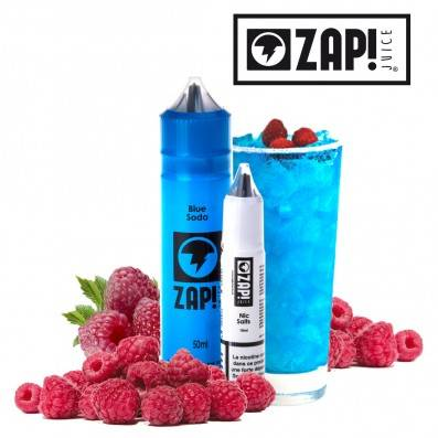 E-LIQUIDE ZAP JUICE BLUE SODA 50ML