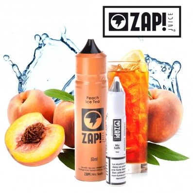 E-LIQUIDE ZAP JUICE PEACE ICE TEA 50ML