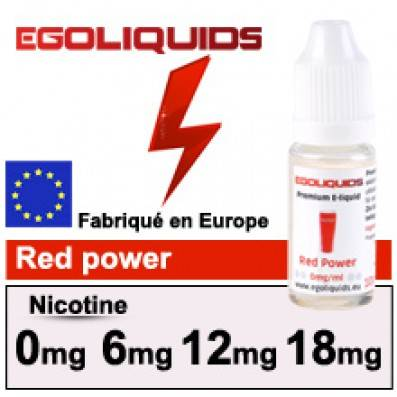 [DESTOCK] E-LIQUIDE EGOLIQUIDS RED POWER