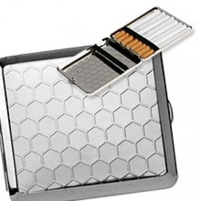 ETUI PLAT A CIGARETTE HONEY