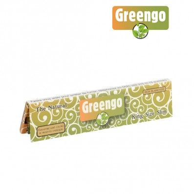 FEUILLES A ROULER NON BLANCHIES GREENGO SLIM