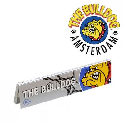 FEUILLES A ROULER THE BULLDOG SLIM SILVER