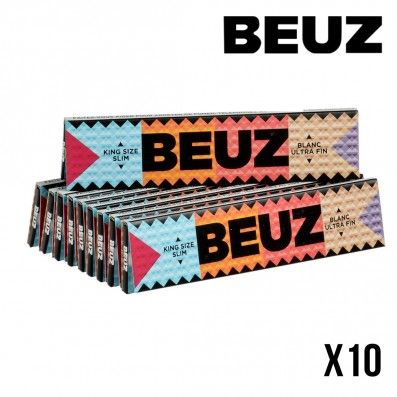 FEUILLES A ROULER BEUZ SLIM X10