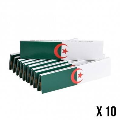 FEUILLES A ROULER NON BLANCHIES ALGERIE SERIE LIMITEE X10