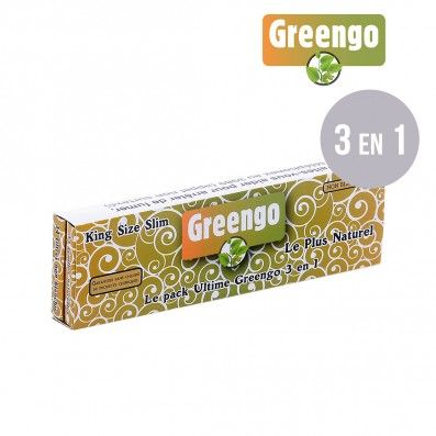 FEUILLES A ROULER NON BLANCHIES GREENGO ULTIMATE