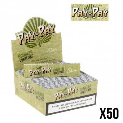 FEUILLES A ROULER PAY PAY GO GREEN X50