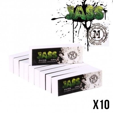 .FILTER TIPS JASS CLASSIC EDITION x10 TAILLE M