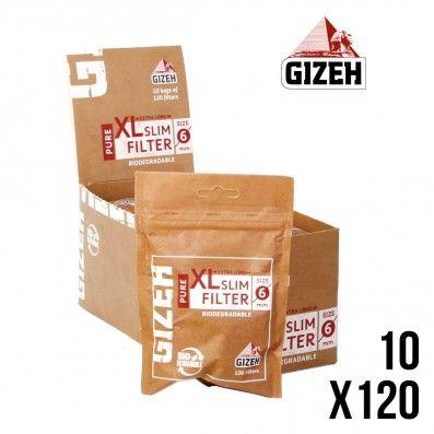 FILTRE GIZEH PURE SLIM XL X10