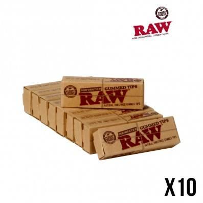 FILTRES RAW GUMMED X10
