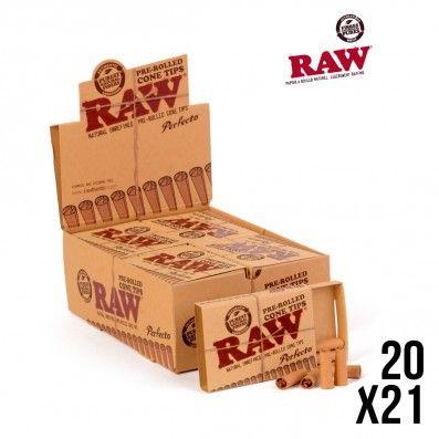 FILTRES RAW PRE-ROULES PERFECTO X20