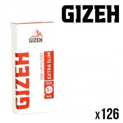 FILTRES GIZEH EXTRA SLIM EN STICK