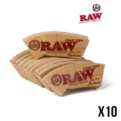 FILTRES RAW CONE TIPS X10 PERFECTO