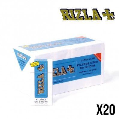 FILTRES RIZLA ULTRA SLIM 5.5MM X20