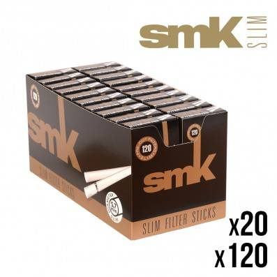 FILTRES SMK EN STICKS SLIM X20