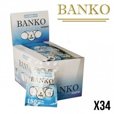 FILTRES BANKO SLIM 6MM X34