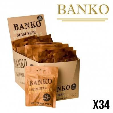 FILTRES BANKO SLIM BROWN 6MM X34