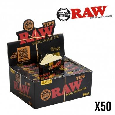 FILTRES RAW BLACK X50