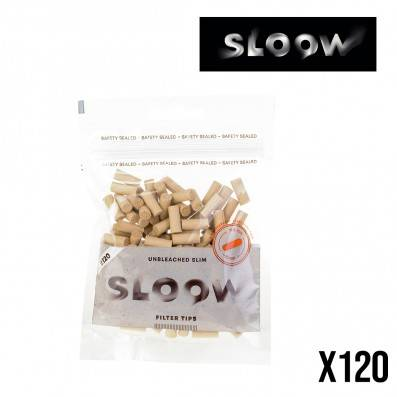 FILTRES SLOOW SLIM 6MM NON BLANCHIS