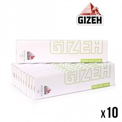 GIZEH HYPER FIN SLIM X10