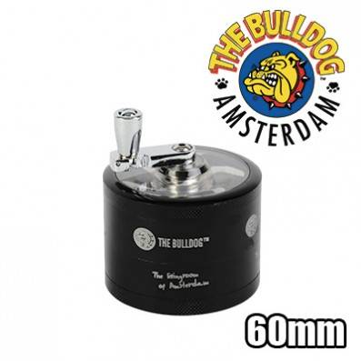 GRINDER MANIVELLE THE BULLDOG 4 PARTIES 60MM