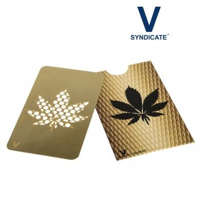 GRINDER CARTE V-SYNDICATE LEAF GOLD