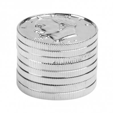 GRINDER DOLLAR COIN 3 PARTIES 43MM