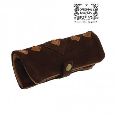 KAVATZA Mini pouch patchwork brown