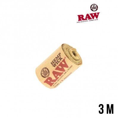 MECHE RAW HEMP WICK 3M