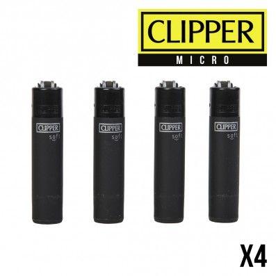 MICRO CLIPPER ALL BLACK X4