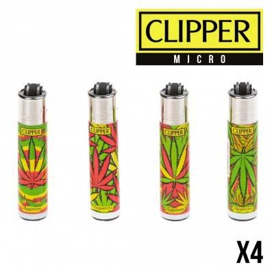 MICRO CLIPPER LEAF RASTA 30 X4