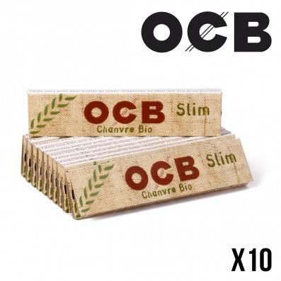 OCB BIO CHANVRE SLIM X10
