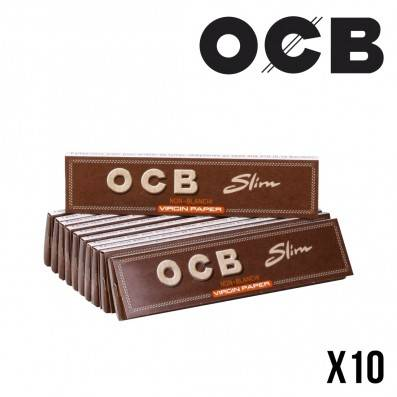 OCB VIRGIN PAPER SLIM PAR 10